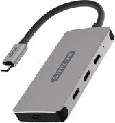 Sitecom - USB-C to USB-C + PD Hub 4 Port