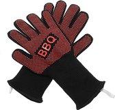 Barbecue handschoenen - 2 stuks - hittebestendige handschoen BBQ / ovenhandschoen