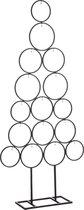 House of Seasons Decoratie Boom voor 16 Ornamenten - L53 x B15 x H117,5 cm - Zwart