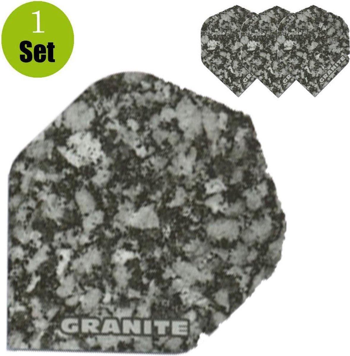 Granite Dart Flights - Grijs- ()