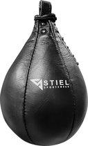 Stiel Speedball - 25 x 17cm - Leer - Zwart