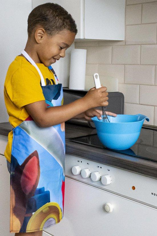 Re-Banner Spelen - Kinderschort - keukenschort -  multi kleurig - slijtvast - wasbaar - uniek product