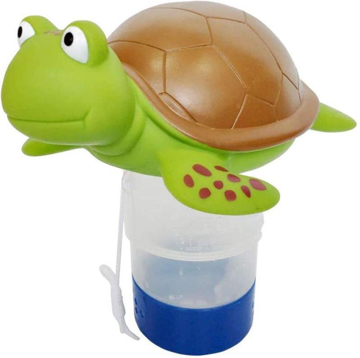 DG Commerce - Chloordrijver - Zwembad/Jacuzzi - Gereguleerde afgifte - Schildpad
