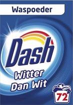 Dash Waspoeder Original Wit - Wasmiddel - 72 Wasbeurten - Voordeelverpakking