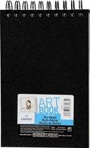 Canson tekenboek 'Art Book Mix Media', 40 vellen, 224 g/m², ft 14 x 21,6 cm