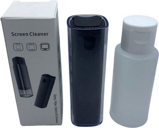 Screen Cleaner   2 in 1 - Spray en Microfiber cloth 60ML   Laptop, Computer Monitor, Telefoon scherm schoonmaak spray