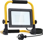 Aigostar 13VRR LED Werklamp - IP44 Stootvast - 30W 2700 lm - 6500K Daglicht wit - incl. 150cm Aansluitstekker