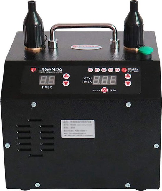 Lagenda Ballonnenpomp B322 V5.0 Dual Nozzle 110 Vac 11-delig