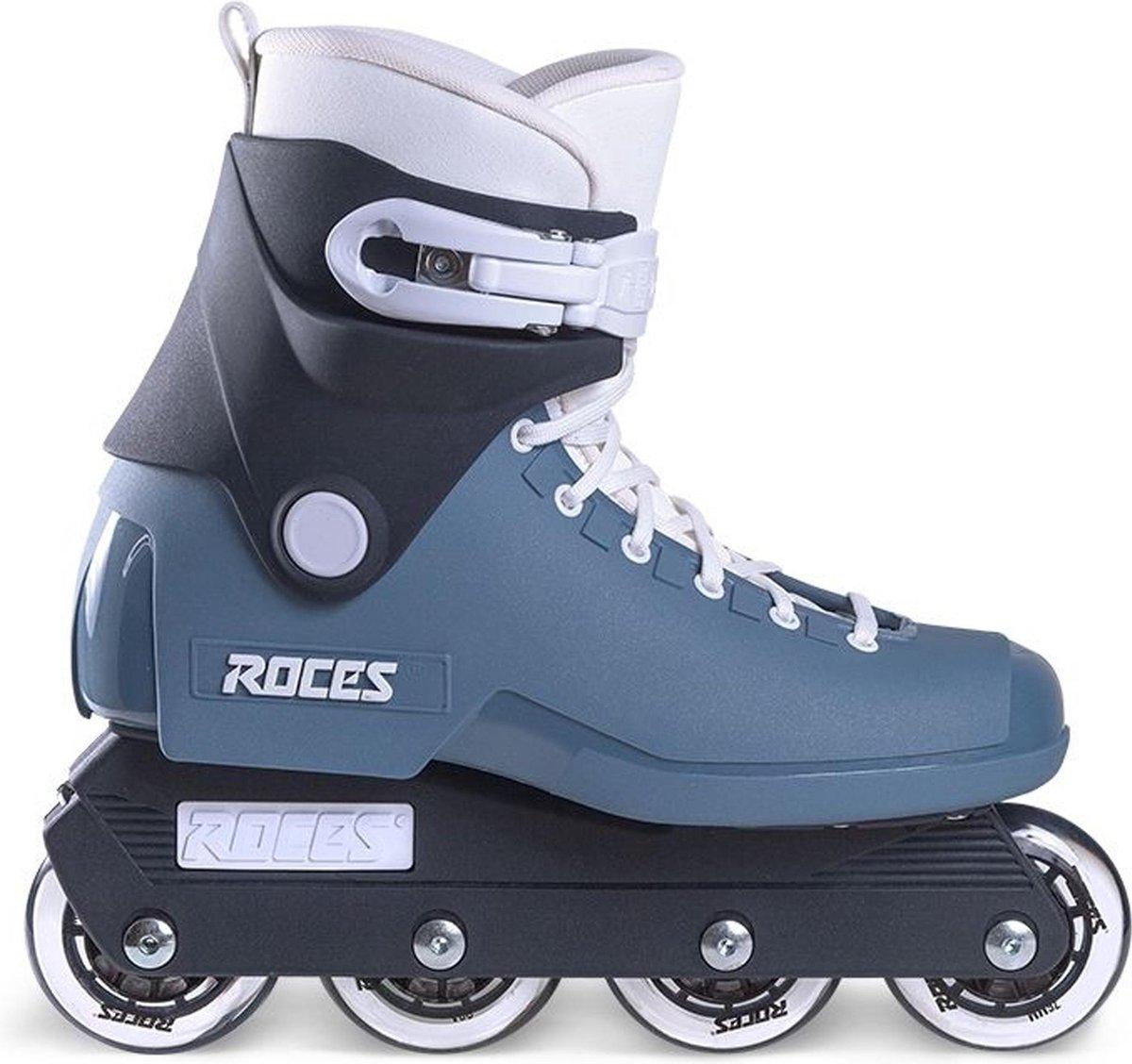 Roces 1992 Inlineskates - Maat 45 - Unisex - grijs/blauw/zwart/wit