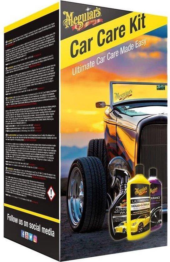Meguiars Car Care Kit - 3 delig