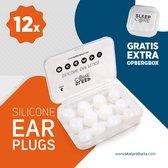 SleepCore® - 12x Sound Plugs - Oordoppen - Earplugs - Geluidsoverlast - Slapen - Slaap Oordopjes - Snurken - Zwem - Anti Snurk - Slaaphulp - Geluid - Studeren - Gehoorbescherming - Geluidsoverlast - Lawaai - Waterdicht - Nacht - Kneedbare - Siliconen