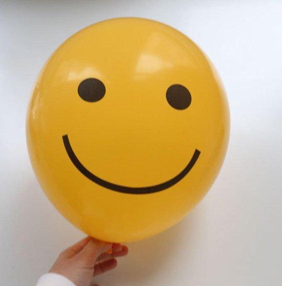 Premium Kwaliteit Smiley Ballon, Geel , 20 stuks, 12 inch (30cm) , Verjaardag, Happy Birthday, Feest, Party, Wedding, Decoratie, Versiering, Gift, Cadeau, Sinterklaas, Kerst, Miracle Shop