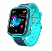 Wonlex - Kinder smart Horloge 4G voor kinderen - Smartwatch horloge - Functie, GPS - SOS alarm - WIFI Camera telefoon - HD Video bellen- Waterdicht - Simkaart - WIFI Videogesprek Stappenteller - Smartphone - Smachthorloge - Wekker - Kleur groen