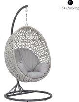 KLIMliving - Relax stoel voor binnen en buiten - Egg hangstoel - Hoge kwaliteit hangstoel - Hangstoel Cocoon - Egg Chair - Hangstoel met standaard