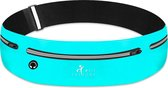 Hardloop Telefoonhouder Hardloopriem Lightweight Running Belt Heuptas Heren Damen - Sportband - Heuptas - Hardlooptasje - Hardlopen - Blauw - One Size