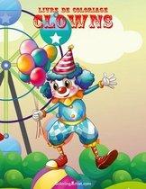 Livre de Coloriage Clowns 1