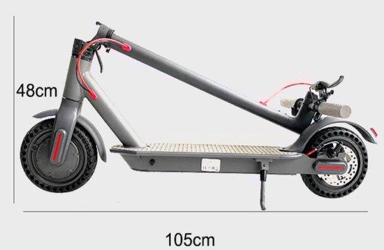 Pegasus-cross T1 met draagtas - gsm houder - schijflock - Opvouwbare Elektrische Step E-scooter