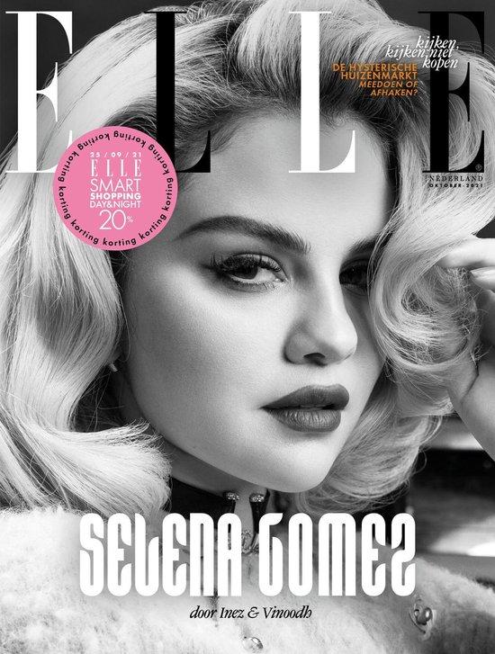 Afbeelding van ELLE Magazine oktober Selena Gomez- editie 10-2021