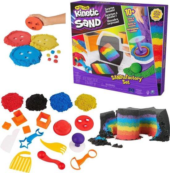 Afbeelding van Kinetic Sand Sandisfactory set - 907 gram speelgoed