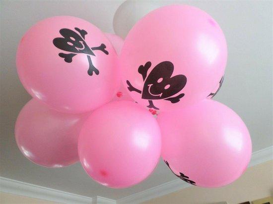 Roze Piraten Ballonen-10 stuks