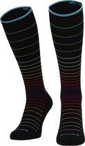 Sockwell Circulator Black Stripe - Klasse 1 Compressiekousen Dames - Maat 35-38