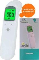 WBTT® - Infrarood Thermometer - Voorhoofd - Lichaam - Koortsthermometer - Wit