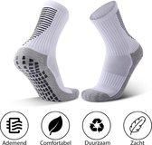 MyStand® Gripsokken Voetbal Unisex - Wit- One Size