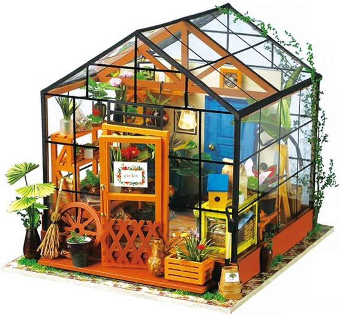 Robotime modelbouwpakket - Cathy's Flower House