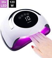 UV lamp gelnagels - Led lamp nagels - Nagellamp - Gellak - Nagellak droger - Nagel - led - Nageldroger - 120W