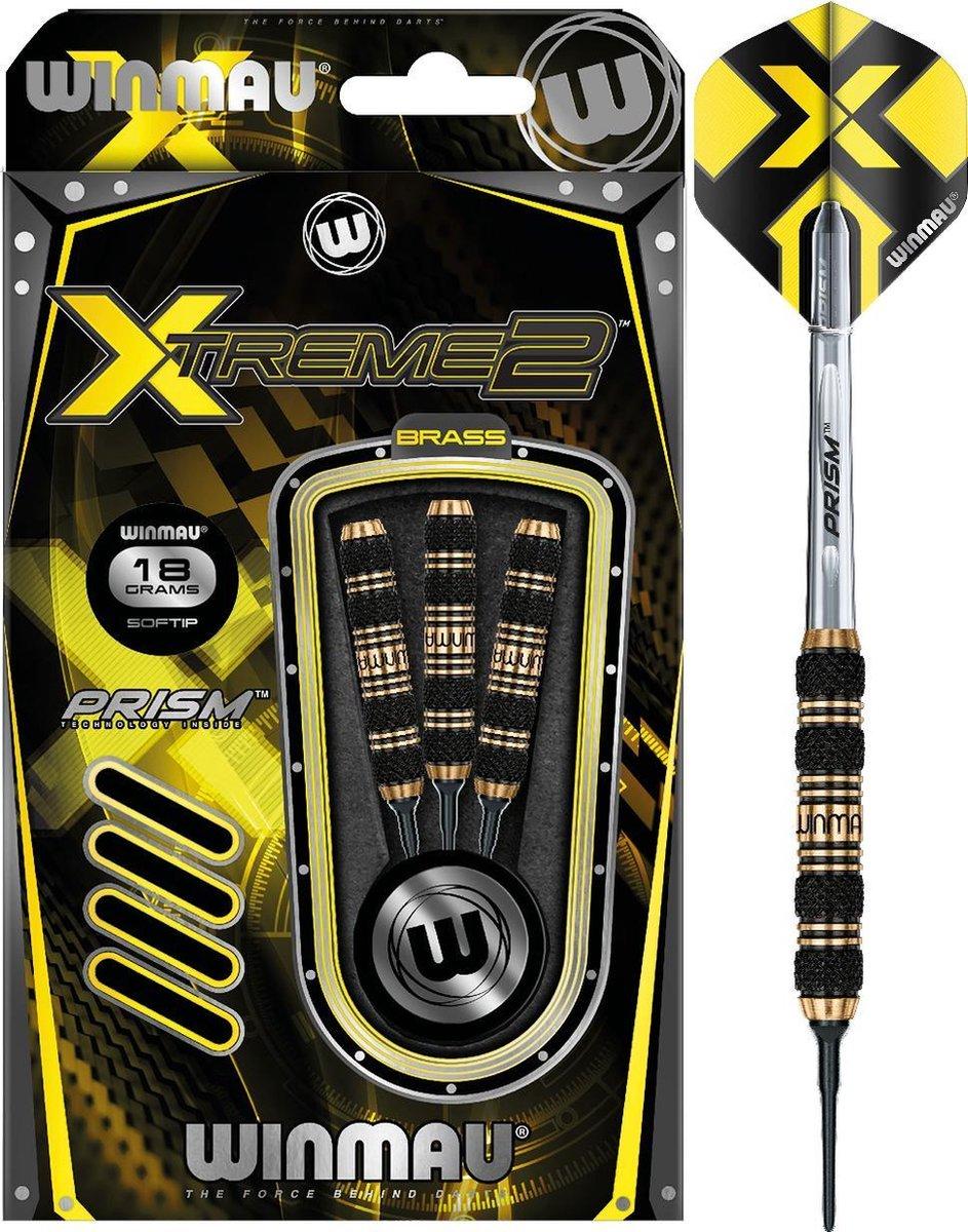 Winmau Xtreme2 - 2 Brass Soft Tip - 18 Gram