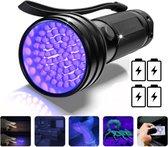 ProTools UV Lamp - UV zaklamp - 51 Ultra Violet LED's - Blacklight zaklamp - Inclusief 4 Batterijen