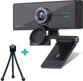Webcam voor PC met microfoon en cover via USB perfect helder  beeld! - NOVIGA
