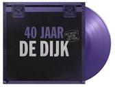 CD cover van 40 Jaar (Ltd. Purple Vinyl) (LP) van De Dijk