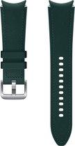 Samsung Hybrid Leather Band - Galaxy Watch4 - 20mm S/M - Groen