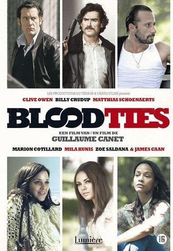 Cover van de film 'Blood Ties'