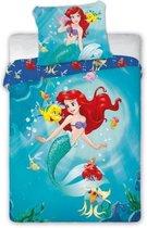 Dekbedovertrek Kids Princess Ariel Disney 135x100