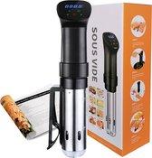 TastiQ Pro® Sous Vide Stick - Slowcooker met Timer - Sous-Vide met gratis Receptenboek