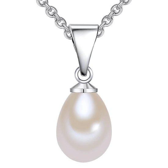 Valero Pearls Valero Pearls Parel ketting Sterling zilver Gekweekte zoetwaterparels wit