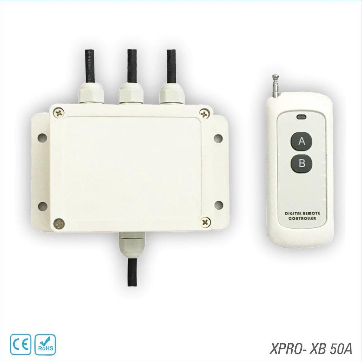 XPRO POOL | Controlesysteem Voor RGB Zwembadlampen twee aderige kabel