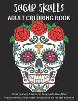 Adult Coloring Book - Sugar Skull