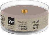 2 stuks WoodWick Fireside Petite Candle