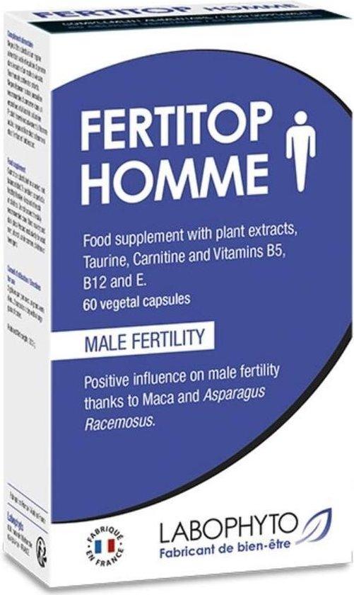 LABOPHYTO | Fertitop Men Food Suplement Male Fertility 60 Pills