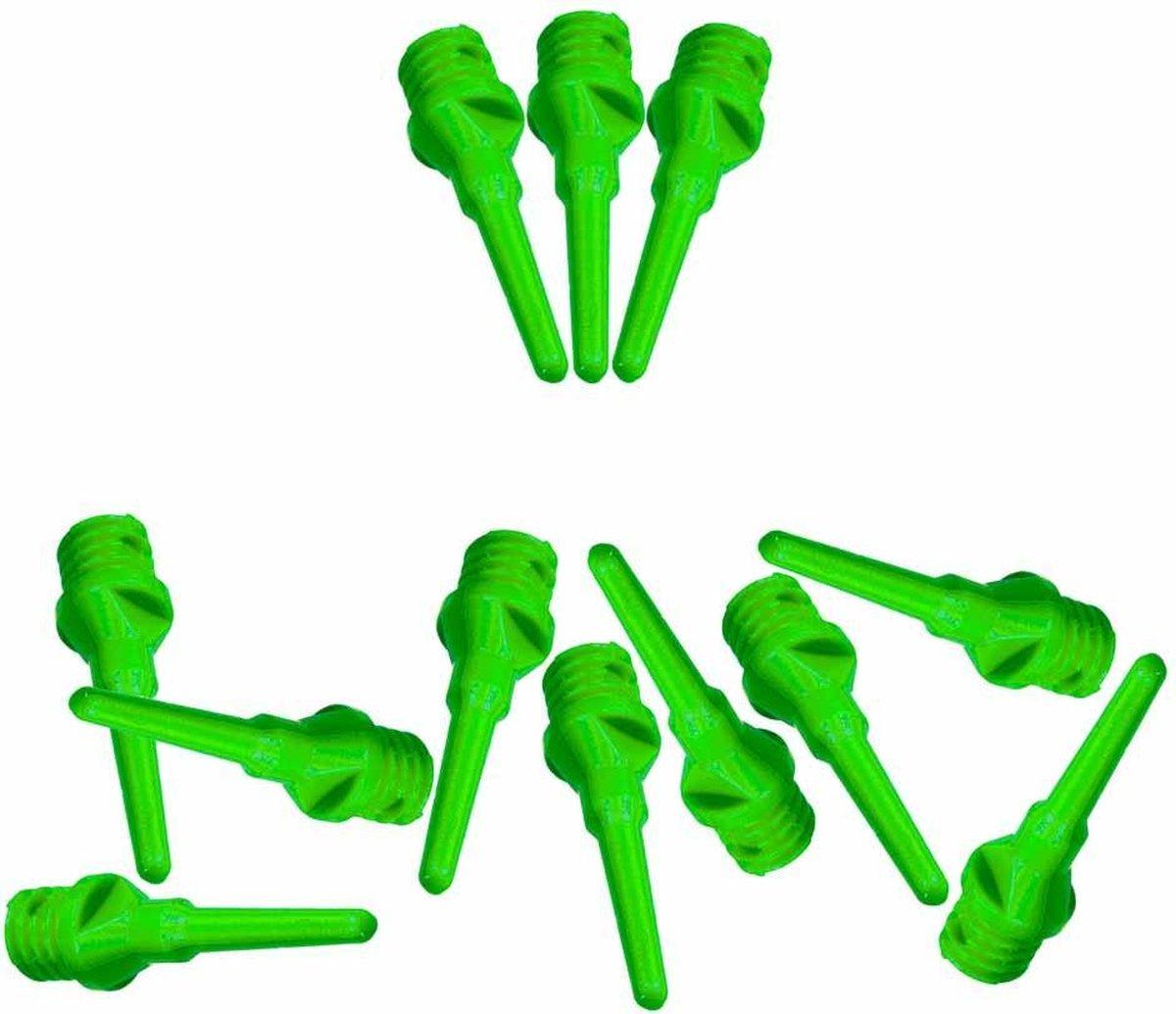 ABC Darts - Softtip Dartpunten 21 mm - Neon Groen - ca 1000 stuks