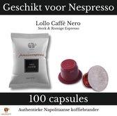 Lollo Caffè - Passionespresso Nero, 100 koffiecups - koffie capsules