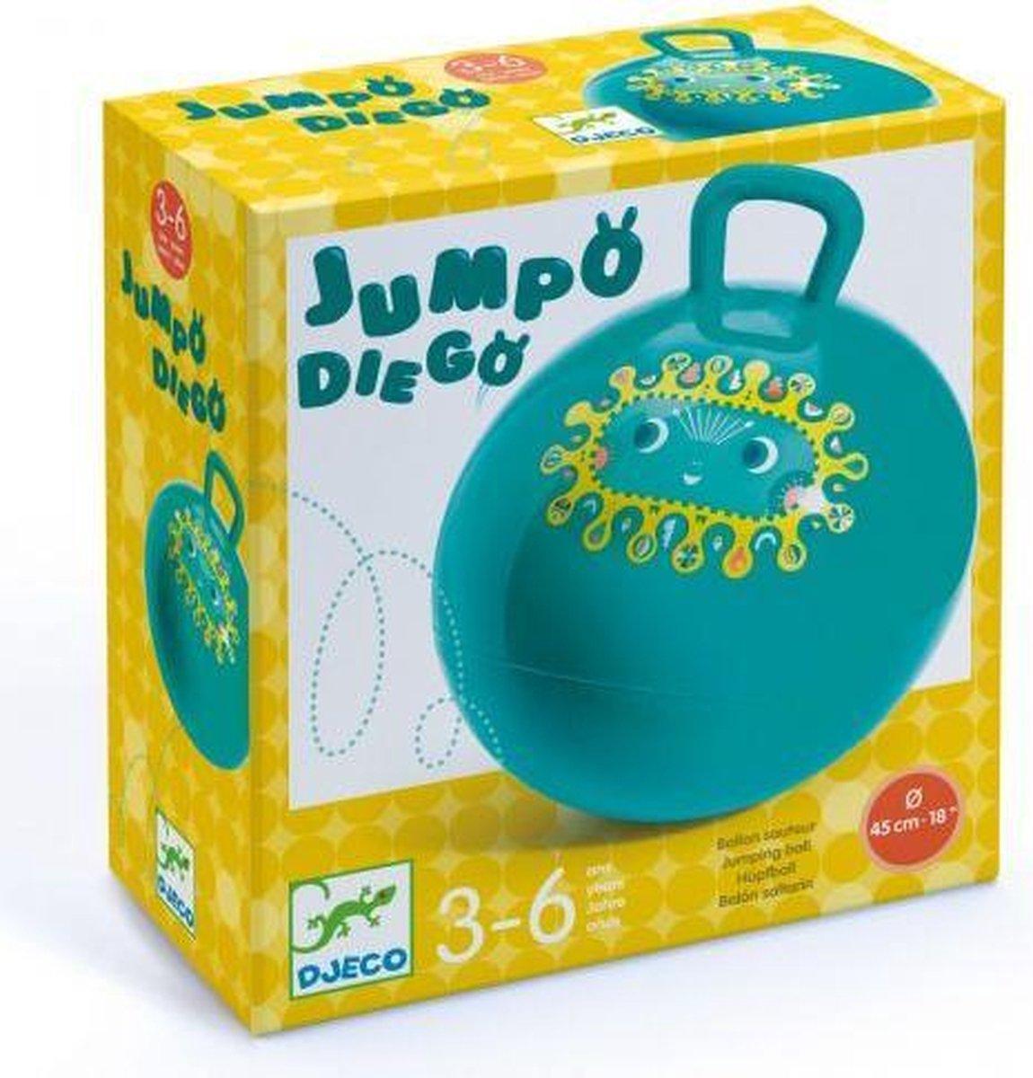 Djeco Skippybal Groen | Jumping Ball