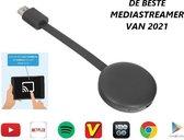 Media Streamer  -  Smart HDMI Dongle - Full HD - Draadloos tv kijken - WIFI Receiver Voor Android en IOS - G7S 2021 Ultra - App Streaming