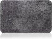Badmat - Witts - 60 x 90 cm - Extreem comfortabel - Badkamer Accessoires - Polyester - Badmat Antislip - Douchemat - WC Mat - Antraciet