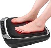 Lifeproducts Voetmassageapparaat - Shiatsu Massage apparaat - 18 Verwarmde Massagekoppen - Goed Voor Bloedcirculatie - Met Infraroodwarmte - Instelbare draairichting