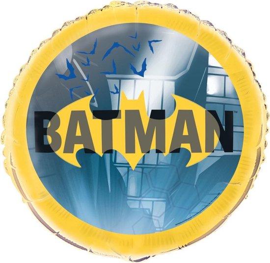 Batman Helium Ballon Rond 45cm leeg