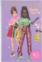 Topmodel Stickerboek Dress Me Up 26,2 X 18 Cm Papier 8-delig